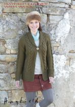Hayfield Chunky with Wool - 7152 Cardigan Knitting Pattern